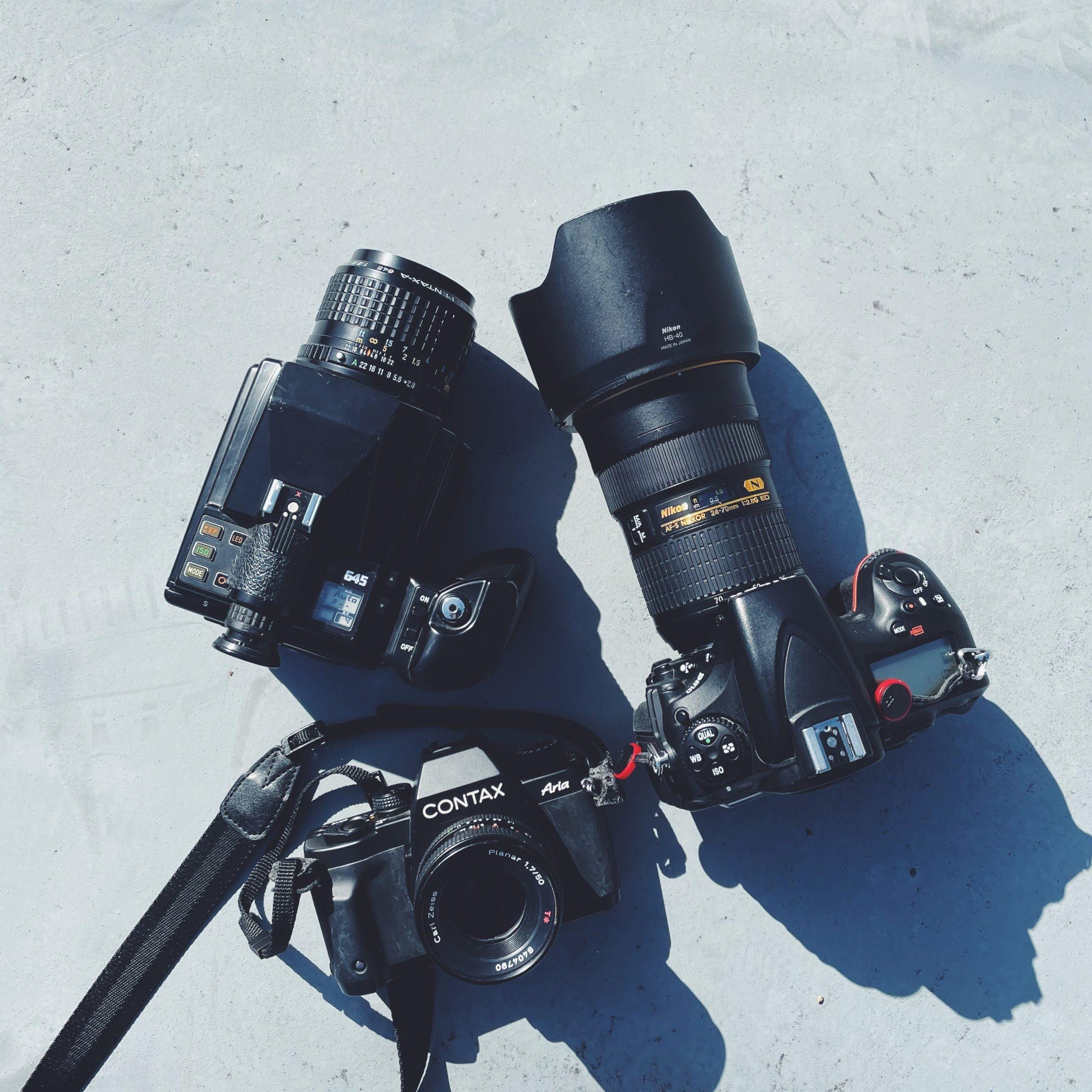 ライブ写真を撮り続けている私の使用カメラ遍歴